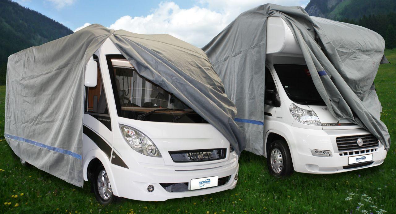Schutzhüllen für Wohnmobile und Wohnwagen - Camping Magazin