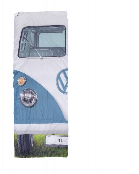 VW Bus T1 Einzelschlafsack 180 x 75cm blau