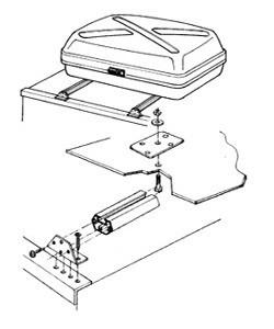 Mounting Rack für Top-Boxen