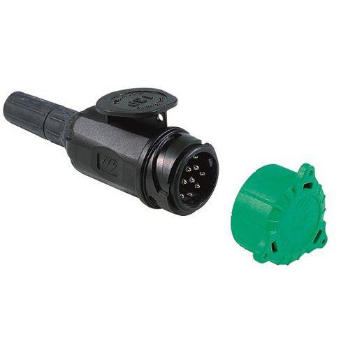 Stecker DIN 13 polig Jägersystem Bajonettkupplung Wasserdicht