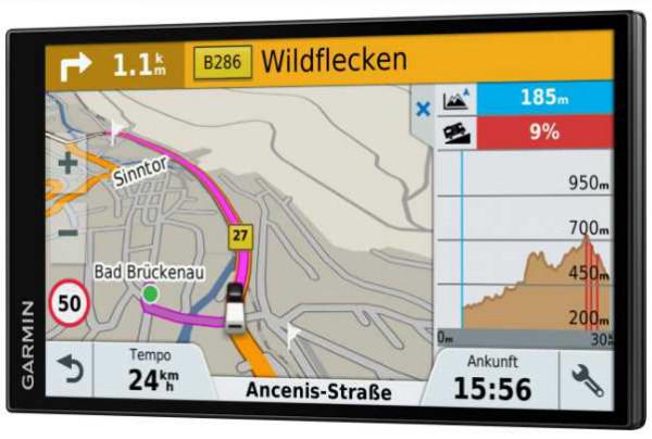 Navigationssystem Garmin Camper 770 LMT-D