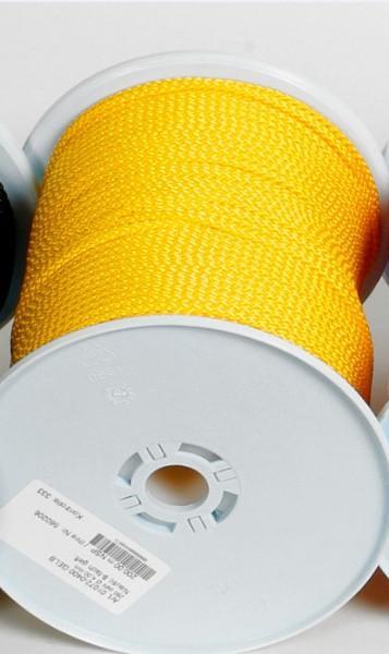 Seil 30 Meterrolle 4 mm gelb