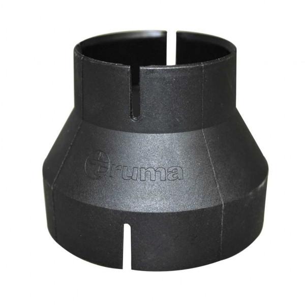 Truma Reduzierung RZ 72 auf 49 Verbindungsstück schwarz