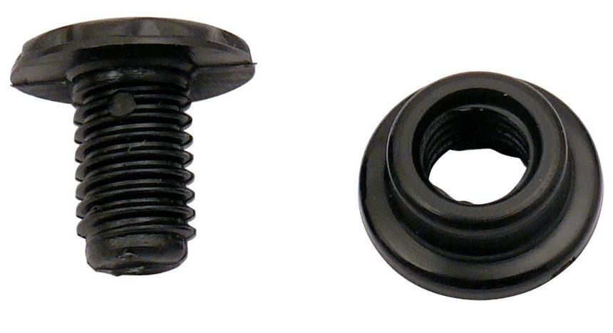 Kunststoffschraube und Nutmutter für Glasabdeckung für SMEV Serie 8000 | 7332464229219