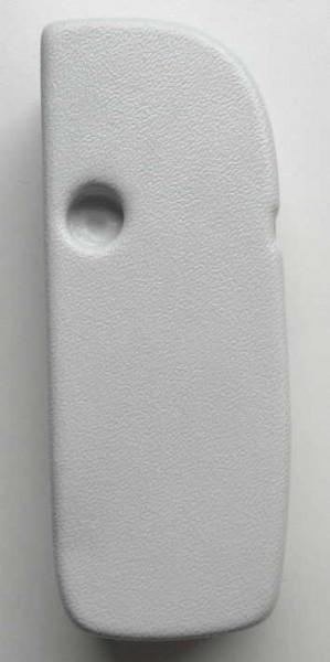 Endkappe Thule Omnistor 5500 12V ab Baujahr 2003, links, weiß