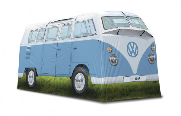 VW T1 Bus 4 Personen Campingzelt blau