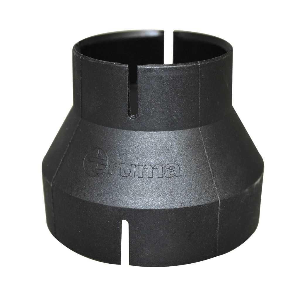 Truma Reduzierung RZ 72 auf 49 Verbindungsstück schwarz   4041431034529