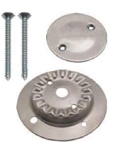 Kit Brennerkorpus klein mit 2 Löchern und Brennerdeckel Inox für SMEV-Kocher neue Modelle