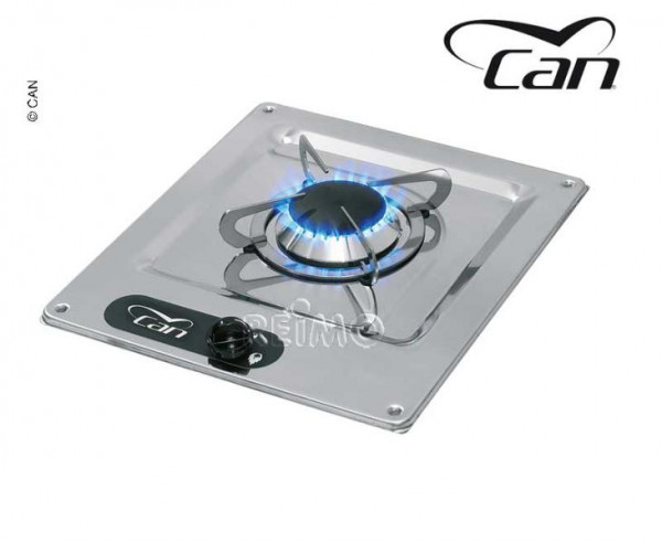 Can Kocher 1-flammig Edelstahl 320x285 mm