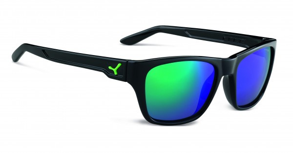 Cebe Sonnenbrille Hacker glänzend schwarz