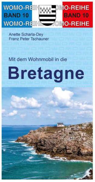 Reisebuch mit dem Wohnmobil in die Bretagne