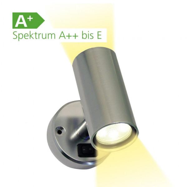 Frilight Spot Minitube D2 x 18 SMD Aluminium
