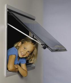 Ersatzscheiben für S3 - Fenster Grauglas 900 x 600 mm