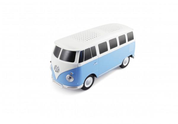 VW Bulli T1 Bluetooth Lautsprecher blau/weiss
