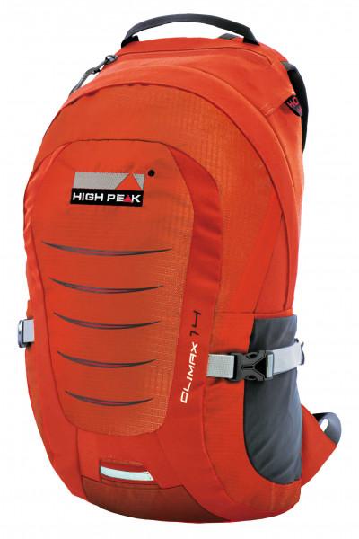 High Peak Tagesrucksack Climax 18 orange