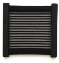 Kiiper-Ablagenetz schwarz liniert 270 x 250 mm