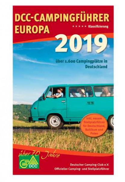 DCC Campingführer Europa 2019