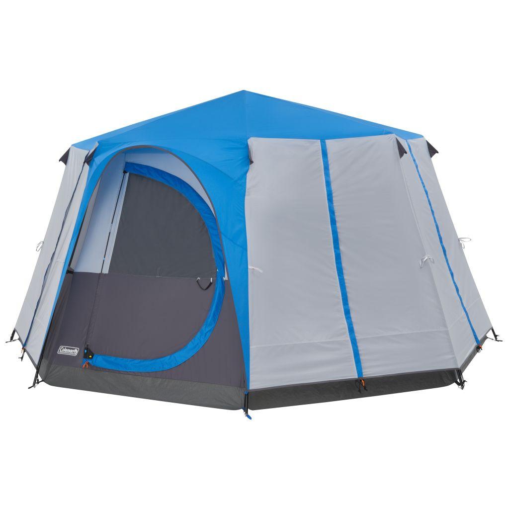 Familienzelt Camping Loft Cortes Octagon blue   3138522094720