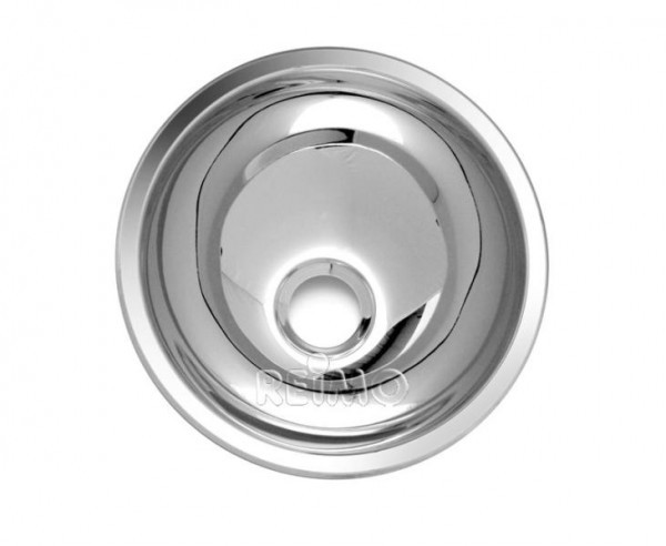 Waschbecken rund Edelstahl 330 mm