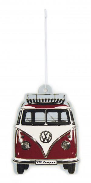 VW Bulli T1 Lufterfrischer Vanille rot