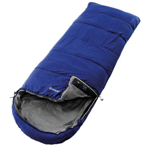 Outwell Deckenschlafsack Campion blau