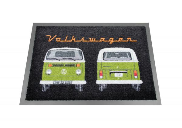 VW Bulli T2 Fußmatte Front & Heck grün