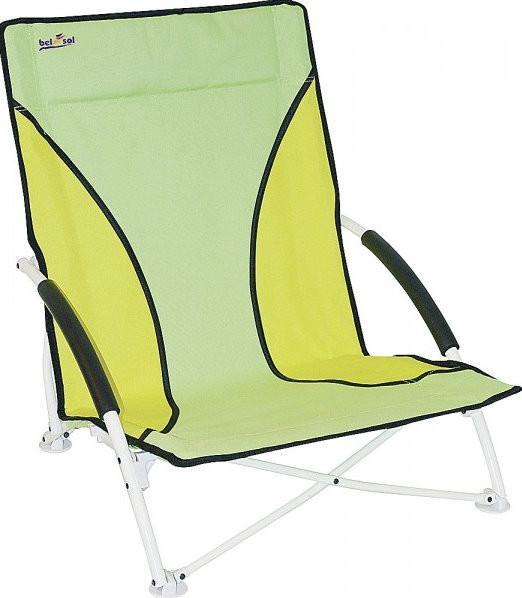 Strandstuhl Modern und Faltbar grün/gelb | 4030416283205