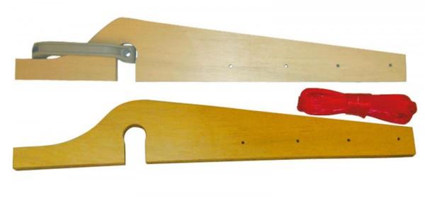 Wäscheleinenhalter 15 mm Sperrholz für Caravan waagrecht