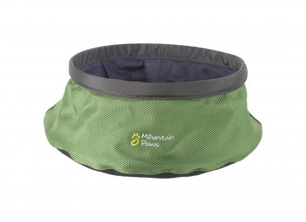 Mountain Paws Wasserschüssel faltbar L, grün