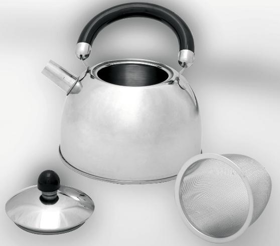 Teekessel mit Teesieb 1 Liter
