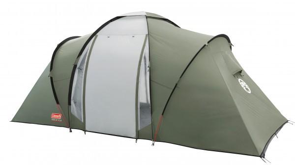 Zelt Ridgeline 6 Plus : Coleman personen zelt ridgeline plus camping