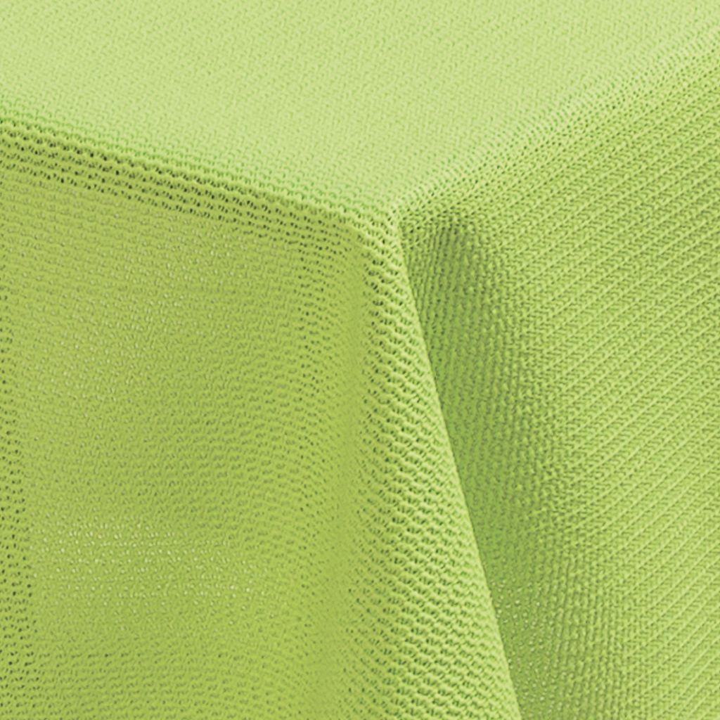 Tischdecke Milano 160 cm rund hellgrün   4007383206056