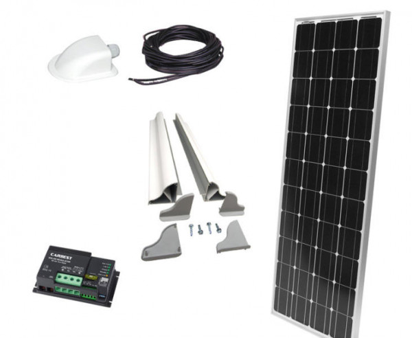 Solaranlage Carbest 120 Watt CB-120 S Set