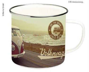 VW Collection Tasse Emaille VW Bulli South