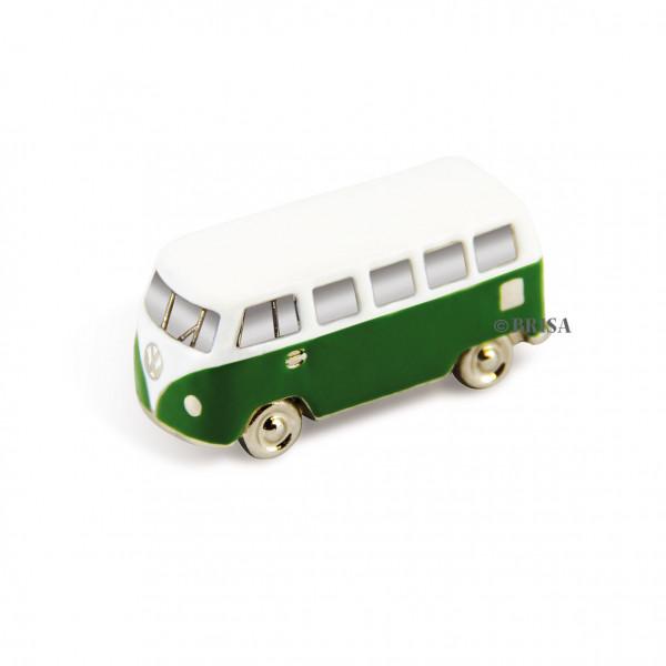 VW Bulli T1 3D Mini Modell mit Magnet grün