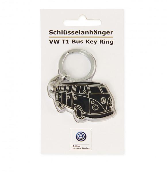 VW Collection Bulli Schlüsselanhänger Silhouette schwarz