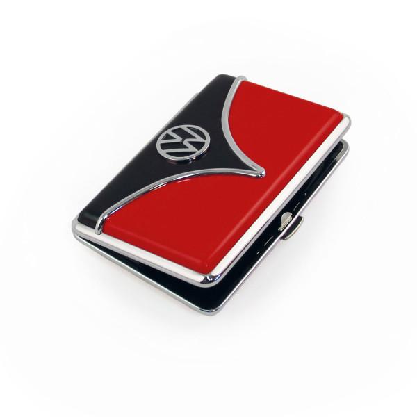 VW Bulli T1 Visitenkartenetui rot schwarz