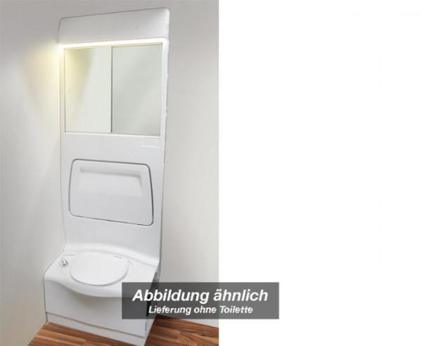 Sanitärwand 4000 für Toilettenraum Wohnmobil oder Caravan