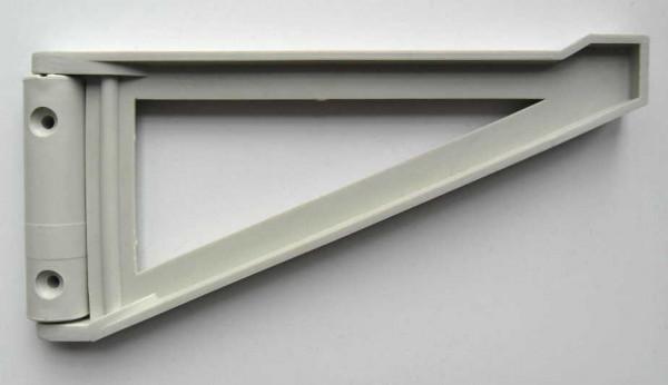 Kunststoffkonsole grau