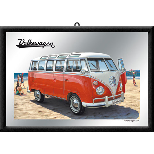 VW Bulli T1 Samba Bus Spiegel Beach