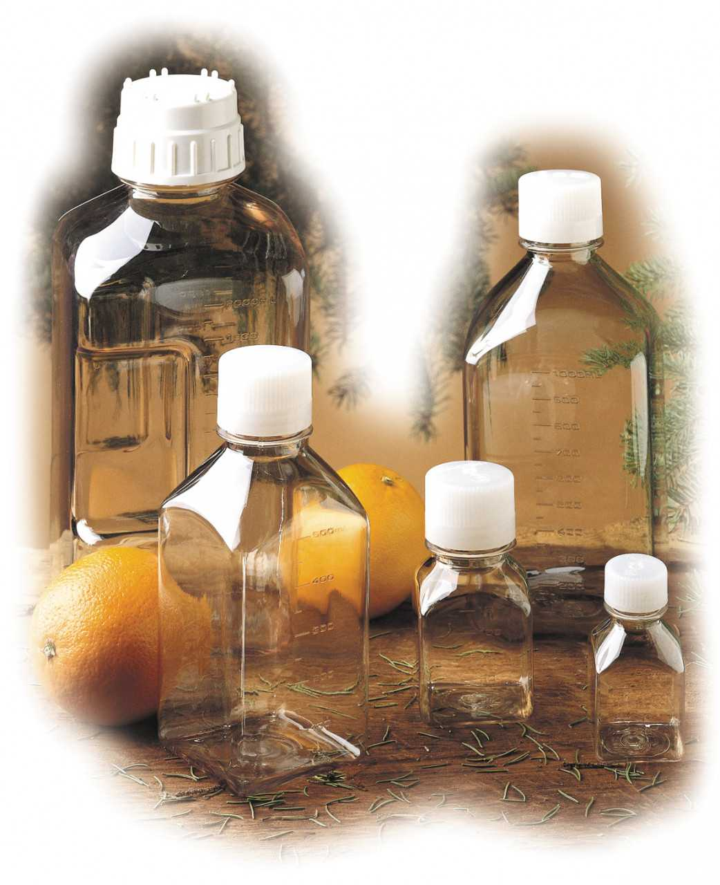 Nalgene Flasche 'Quader' Polycarbonat 125 ml Hals Ø 28 mm | 0661195313322