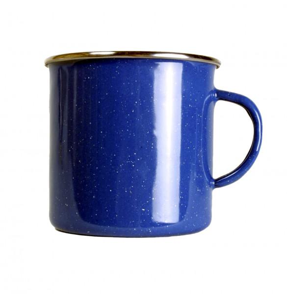 Emaille Tasse 530 ml, blau