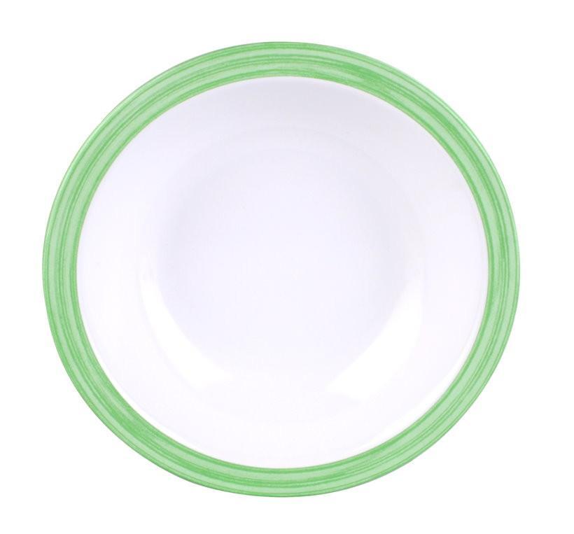 Waca Family Bistro Suppenteller grün | 4009085041645