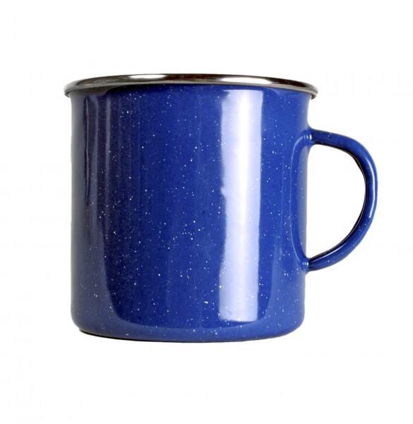 Emaille Tasse 360 ml, blau