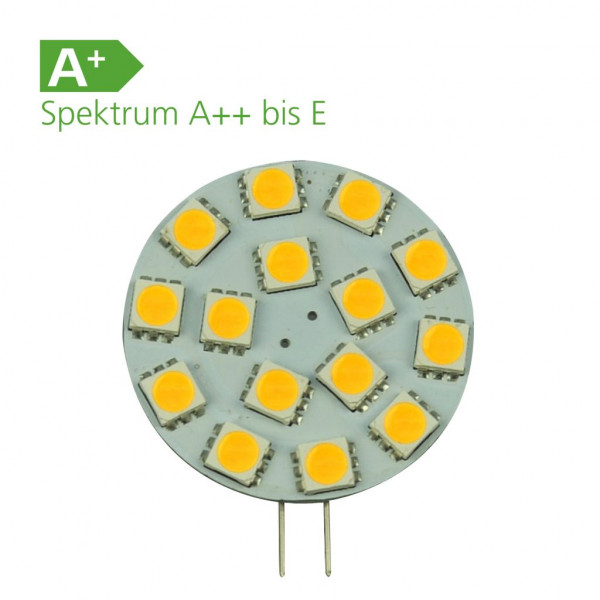LED-Leuchtmittel 15er SMD Modul G4 12 Volt