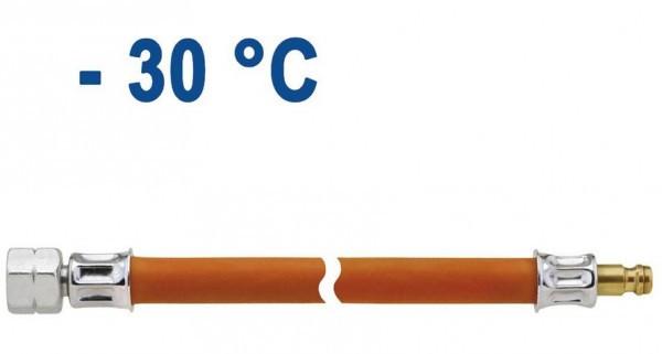 Schlauchleitung Mitteldruck PS 10 bar 1500 mm Überwurfmutter x Stecknippel