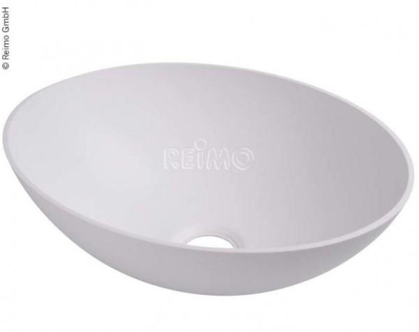 Waschbecken rund weiß 300 mm H 135 mm