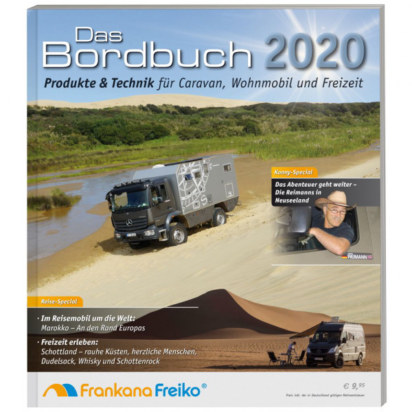 Frankana-Freiko Das Bordbuch 2020