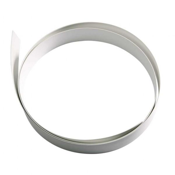 Abdeckprofilband 23 mm weiß für Gummiprofil