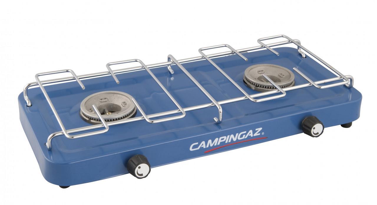 Campingaz Kocher Base Camp 2 flammig ohne Deckel | 03138522060497